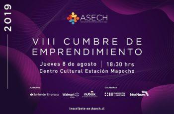 Nueva Cumbre de Emprendimiento ASECH en Estación Mapocho, organizada por la Asociación de Emprendedores de Chile
