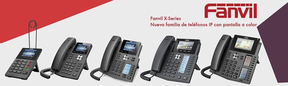Nuevos Teléfonos IP de Fanvil con pantalla a color: Serie X