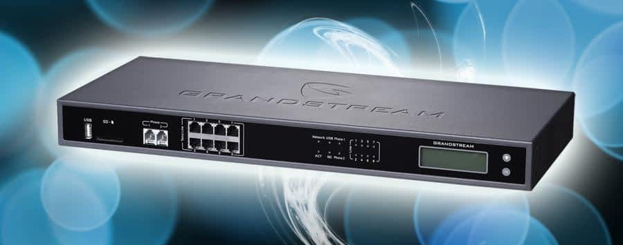 Configurar una Central telefónica IP de Grandstream con 8 líneas análogas