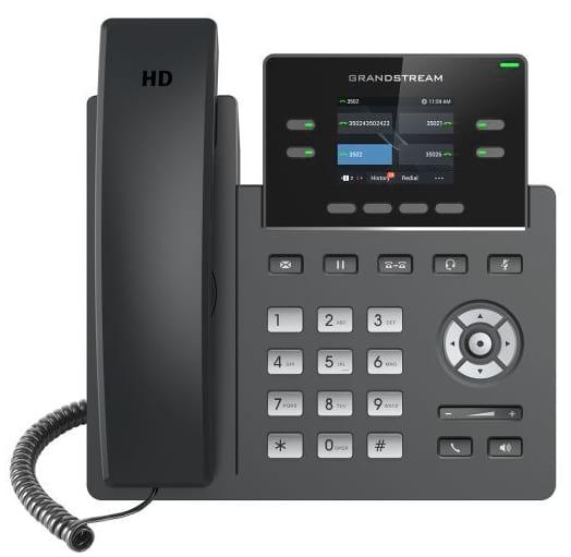 Nuevo teléfono IP GRP2612 y GRP2612P de Grandstream