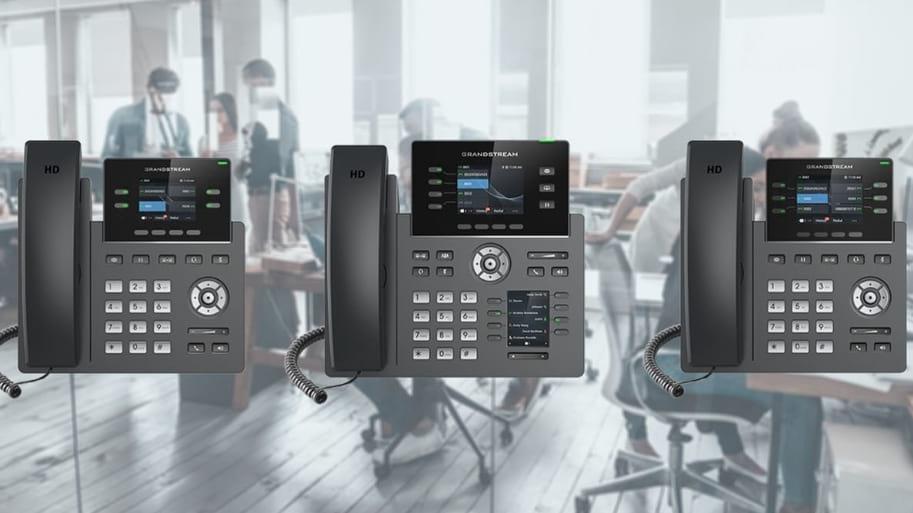 Nuevos Teléfonos IP: serie GRP2600 de Grandstream