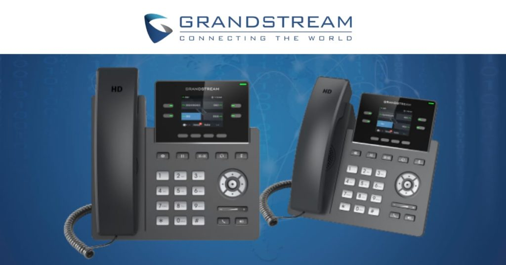 Lanzamiento del Teléfono IP Empresarial GRP2612 de Grandstream, líder mundial en soluciones VoIP