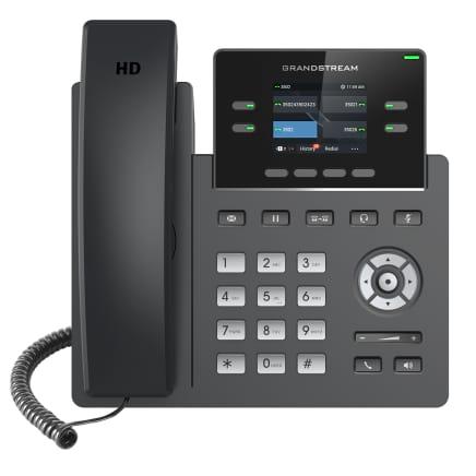 Nuevo lanzamiento del Teléfono IP empresarial GRP2612W de la Serie GRP2600 de Grandstream