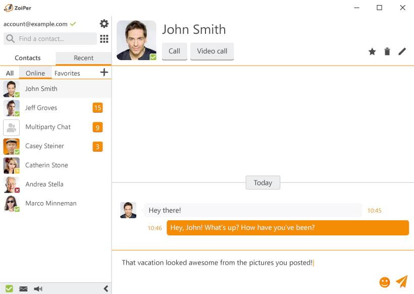 Ventajas de la aplicacion de Softphone VoIP Zoiper 5 Pro