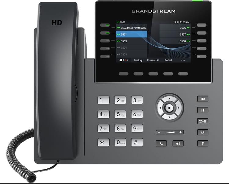 GRP2615: nuevo teléfono IP de Grandstream con Sistema Grandstream Device Management System incorporado