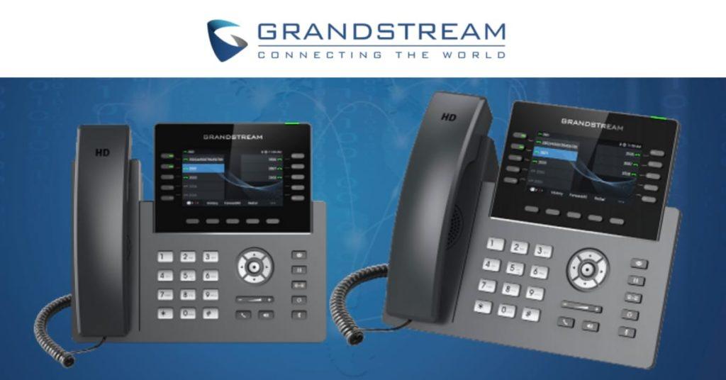 Nuevo Teléfono IP GRP2615 Grandstream de la serie GRP2600 con GDMS incorporado