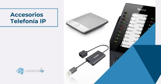 Adaptadores y cargadores para teléfonos IP, Módulos de expansión para teléfonos IP en Chile - Central IP