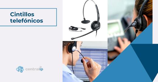 Cintillos telefónicos USB o inalámbricos para Call Centers - Central IP