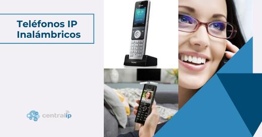 Teléfonos IP inalámbricos para oficina o teletrabajo en Chile- Central IP