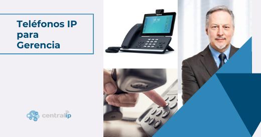 Teléfonos IP multimedia para gerentes y altos cargos en Chile - Central IP